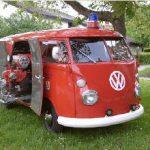 Oldie VW Bully der FF Wintersweiler